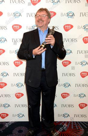Stock Picture of John Surman - The Ivors Jazz award