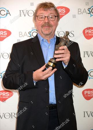 Stock Image of John Surman - The Ivors Jazz award
