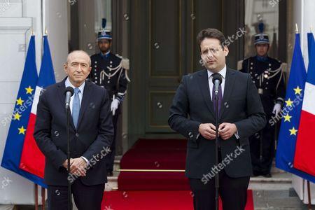 Editorial photo of Interior ministry handover ceremony, Paris, France - 17 May 2017
