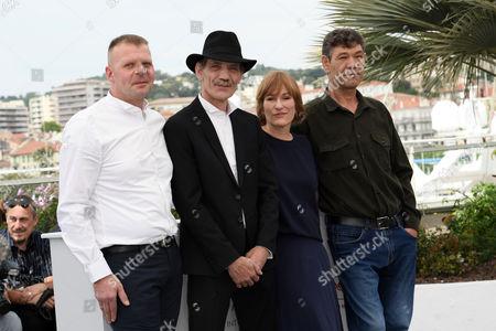 Valeska Grisebach with Reinhard Wetrek, Mainhard Neumann, Syuleyman Alilov Letifoved