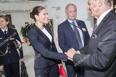 Crown Princess Victoria, Lennart Båge and Jan Eliasson