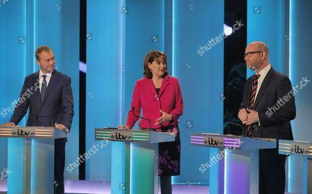 Tim Farron, Leanne Wood, Paul Nuttall