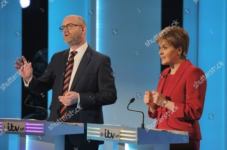 Leanne Wood and Paul Nuttall