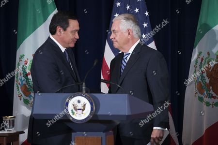 Rex Tillerson and Miguel Angel Osorio Chong