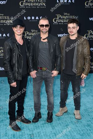 Andrew Lawrence, Joey Lawrence and Matthew Lawrence