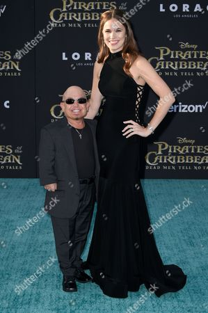 Martin Klebba and wife Michelle Dilgard