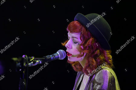 Editorial photo of The Anchoress in concert at the Glasgow Royal Concert Hall, Glasgow, UK - 18 May 2017