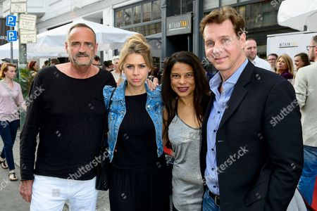 Goetz Elbertzhagen, Lydia Becker, Jackie Brown and Thomas Heinze