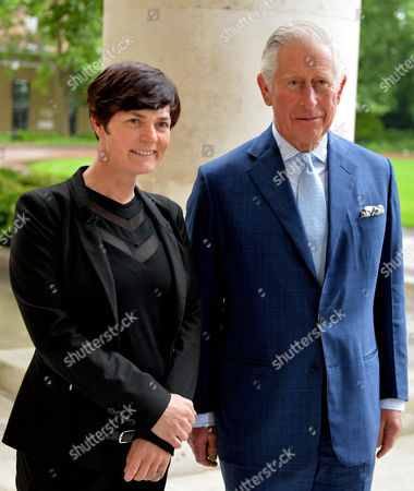 Stock Image of Ellen MacArthur and Prince Charles