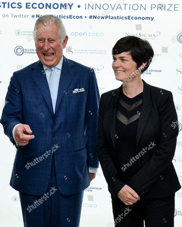 Prince Charles with Ellen MacArthur