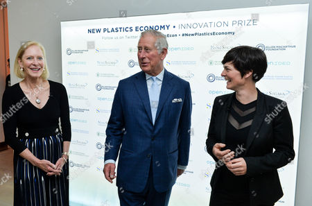 Editorial image of New Plastics Economy Innovation Prize at the Saatchi Gallery, London, UK - 18 May 2017