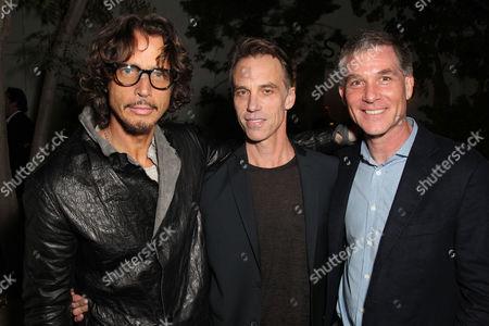 Chris Cornell with Matt Cameron