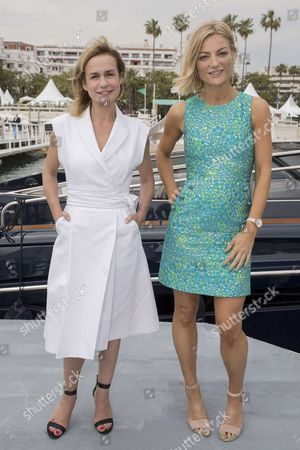 "(L-R) Sandrine Bonnaire (french actress, film director, president of the jury ""L'oeil d'Or""), Lucy Walker (british film director, jury of ""L'oeil d'Or"")"