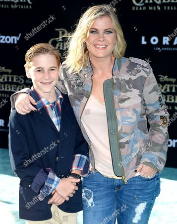 Alison Sweeney and Benjamin Sanov