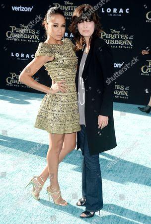 Dania Ramirez and Elizabeth Keener