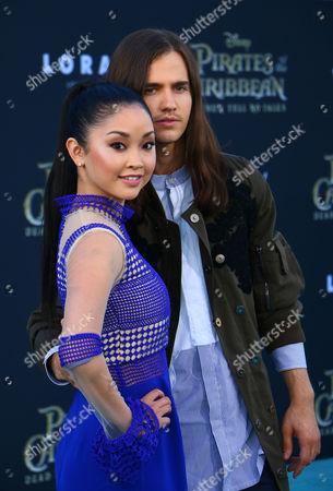 Lana Condor and Anthony De La Torre