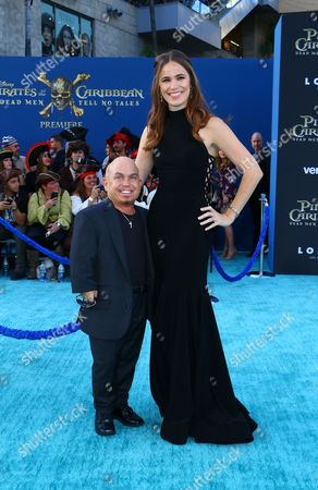 Martin Klebba and Michelle Dilgard