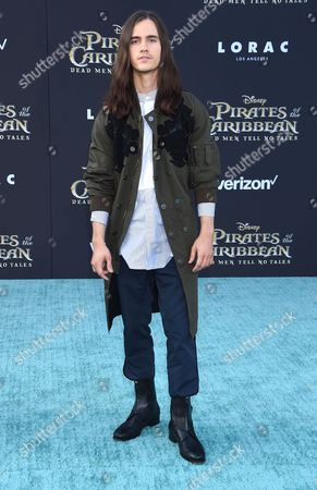 Editorial image of 'Pirates of the Caribbean: Dead Men Tell No Tales' film premiere, Arrivals, Los Angeles, USA - 18 May 2017