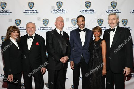 Rikki Klieman, Bill Bratton, James O'Neill, Charles Phillips, Karen Phillips, Dale Hemmerdinger