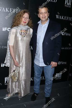 Stock Image of Eve Wolf and Aaron Zigman, composer