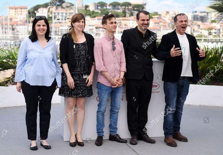 Viktoria Petranyi, Kata Weber, Zsombor Jeger, Kornel Mundruczo and Merab Ninidze