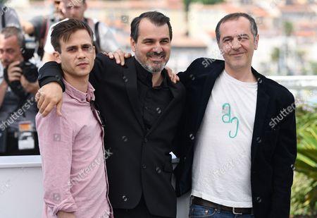 Zsombor Jeger, Kornel Mundruczo and Merab Ninidze