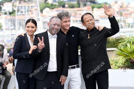 Stock Image of Pornchanok Mabklang, Panya Yimmumphai, Jean-Stephane Sauvaire and Vithaya Pansringarm