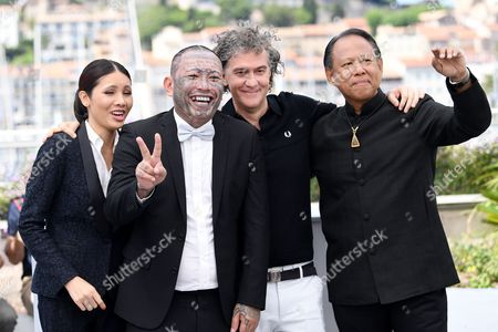 Pornchanok Mabklang, Panya Yimmumphai, Jean-Stephane Sauvaire and Vithaya Pansringarm