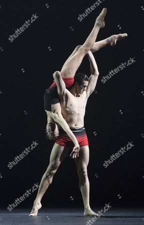 Editorial image of 'Symphonic Dances' Ballet choreographed by Liam Scarlett performed by the Royal Ballet at the Royal Opera House, London, UK, 18 May 2017