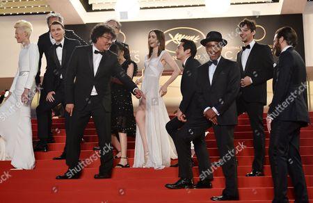 Tilda Swinton, Paul Dano, Seo-Hyeon Ahn, Bong Joon-Ho, Lily Collins, Steven Yeun, Devon Bostick, Giancarlo Esposito and Jake Gyllenhaal