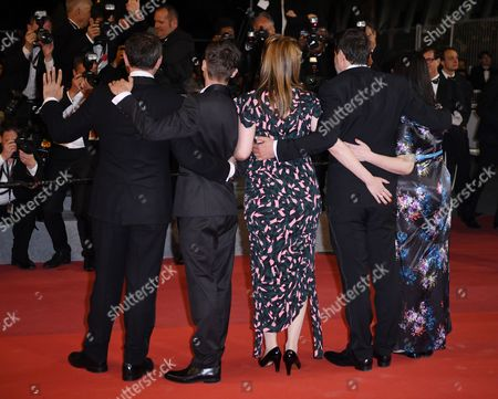 Editorial picture of 'Jupiter's Moon' premiere, 70th Cannes Film Festival, France - 19 May 2017