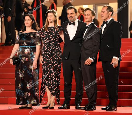 Editorial image of 'Jupiter's Moon' premiere, 70th Cannes Film Festival, France - 19 May 2017