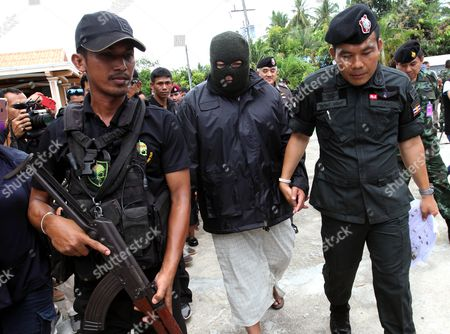 Editorial image of Suspect in Big C car bomb attack is arrested in Pattani, Thailand - 19 May 2017