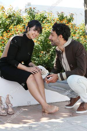 Ghanem Zrelli and Mariam El Ferjani