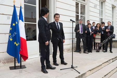 Editorial photo of Gerald Darmanin, official handover ceremony, Paris, France - 18 May 2017
