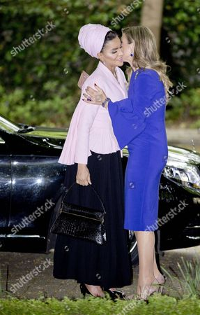 Stock Photo of Queen Maxima, Sheikha Mozah Bint Nasser Al Missned