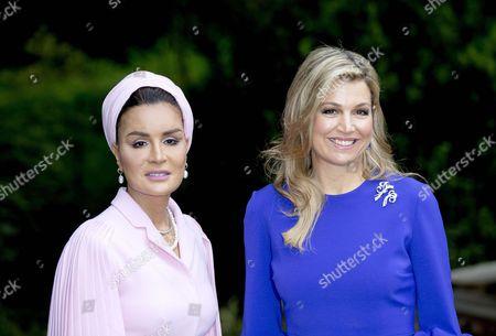 Queen Maxima, Sheikha Mozah Bint Nasser Al Missned