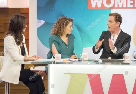 Andrea McLean, Nadia Sawalha and Daniel Lapaine