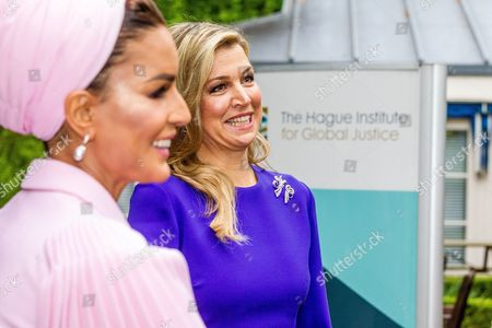 Sheikha Mozah Bint Nasser Al Missned and Queen Maxima