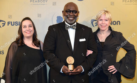 Stock Photo of Cindy Meehl, Dr. Willie Parker, Summer Damon