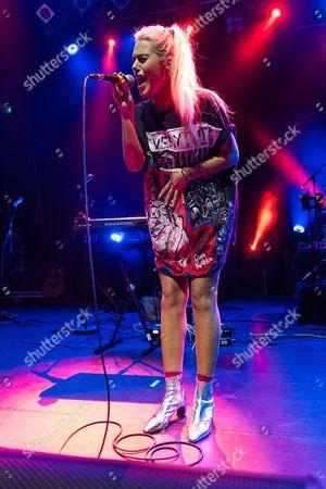 Editorial photo of Gina Kushka in concert at KOKO, London, UK - 18 May 2017