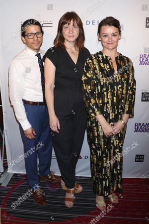 Carlo Alban, Kate Whoriskey and Alison Wright