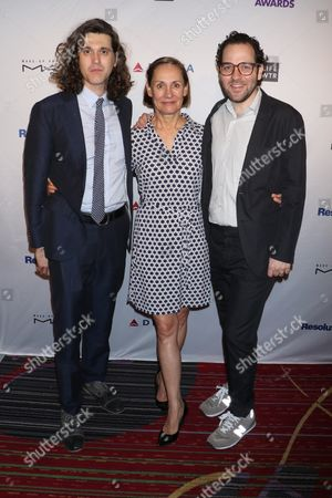 Lucas Hnath, Laurie Metcalf and Sam Gold