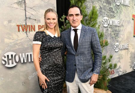 Stock Photo of Lauren Bowles and Patrick Fischler