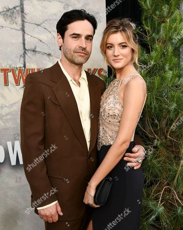 Stock Image of Jesse Bradford and Andrea Leal