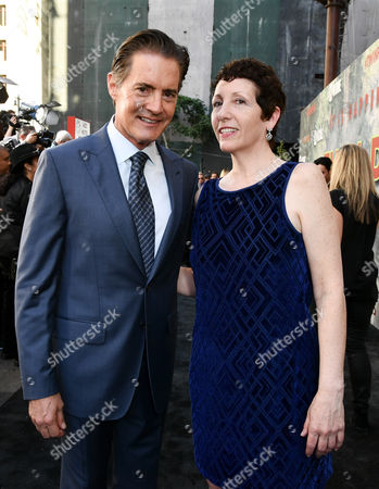 Stock Image of Kyle Maclachlan and Wendy Robie