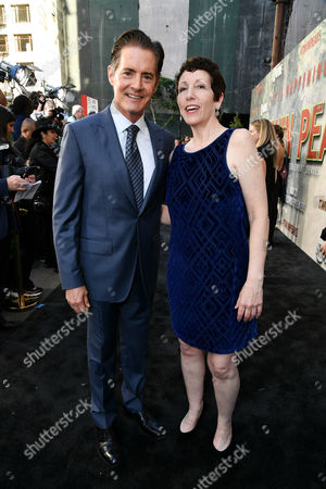Stock Picture of Kyle Maclachlan and Wendy Robie