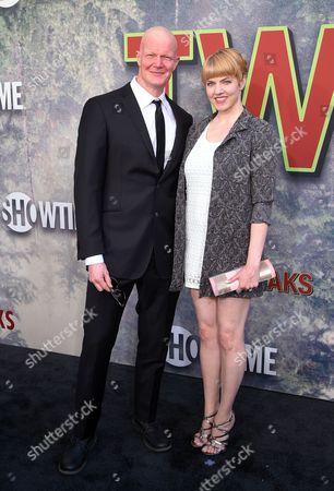 Derek Mears and Jennifer Flack
