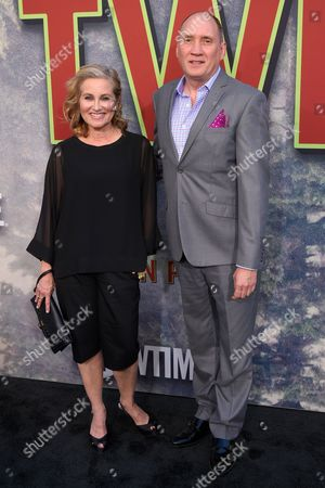 Stock Image of Maureen McCormick and Cullen Douglas