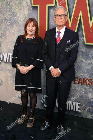 Johanna Ray and Richard Chamberlain